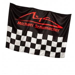 Michael Schumacher Flag Chequered