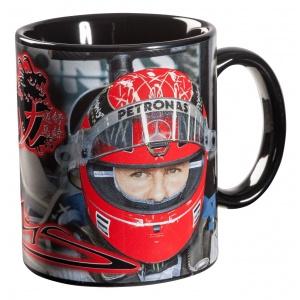 Michael Schumacher Tasse Helm