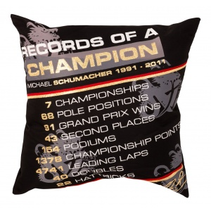 Michael Schumacher Kissen Records of a Champion