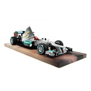 Michael Schumacher Mercedes GP W03 1:18