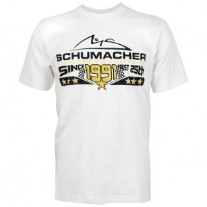 Schumacher T-Shirt 25th August 1991