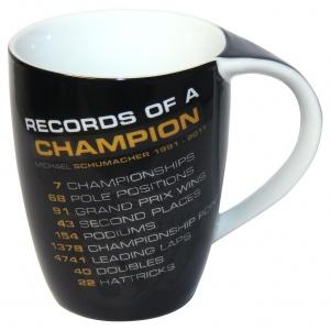 Michael Schumacher Tasse Records of a Champion
