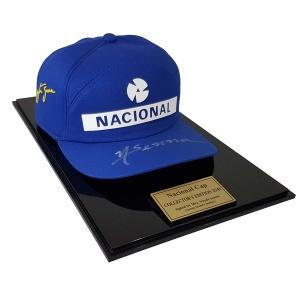 A. Senna Replika Cap Nacional Limitiert