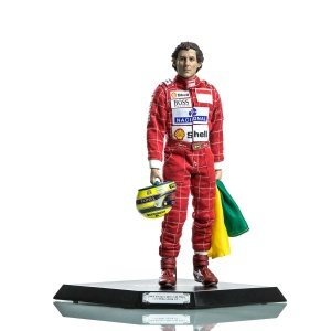 Ayrton Senna Figur 1:6 1993 Brazil GP