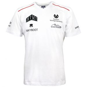 "Michael Schumacher T-Shirt V-Neck ""Sponsor"""