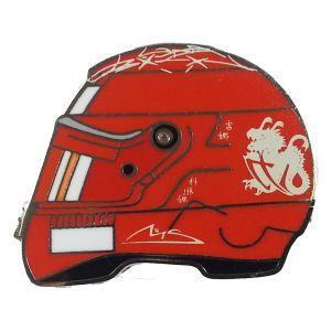 Michael Schumacher Helm-Anstecker 2006