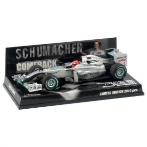 "Mercedes GP Petronas Showcar 2010 ""Comeback"""