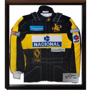 Ayrton Senna Limited Edition Rennanzug 1985