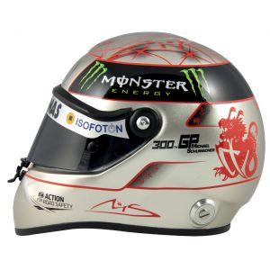 Michael Schumacher Spa 300th GP 2012 Platin Helm 1:2
