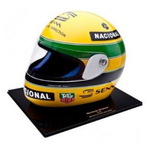 Ayrton Senna 1: 1 Helm 1993 Bercy