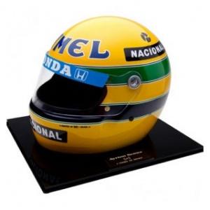 Ayrton Senna 1: 1 Helm 1987