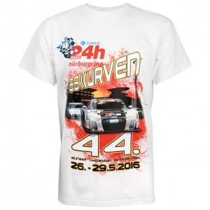 "T-Shirt ""24h Rennen 2016"" white"