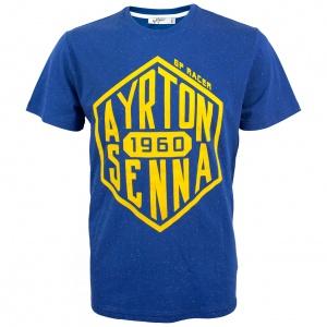 Ayrton Senna T-Shirt Cube