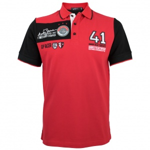 Ayrton Senna Polo-Shirt 41 Victories