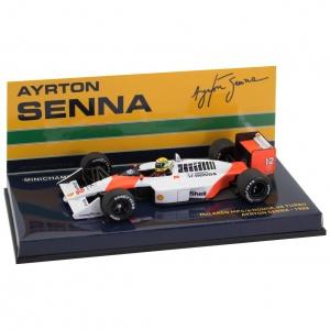 Ayrton Senna McLaren Honda MP4/4 1:43