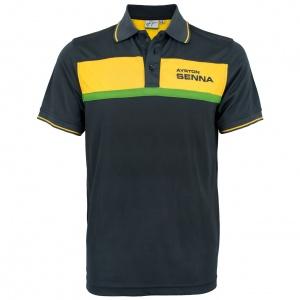 Ayrton Senna Polo-Shirt Racing