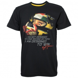 Ayrton Senna T-Shirt Designed To Win